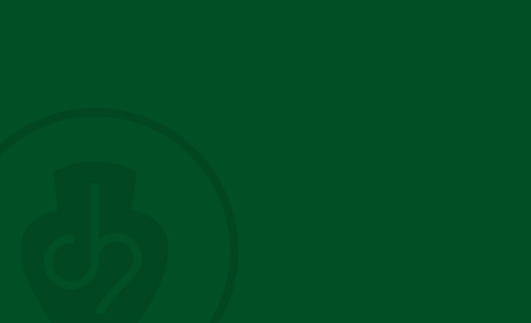 Grüner Hintergrund mit C-Hafner Logo