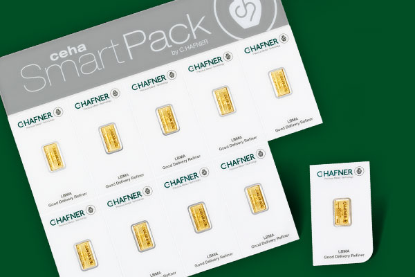 Feingoldbarren Ceha Smartpack