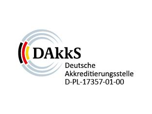 Logo der deutschen Akkreditierungsstelle DAkkS