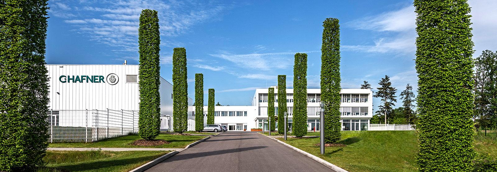 Firmengebäude der Firma C.Hafner