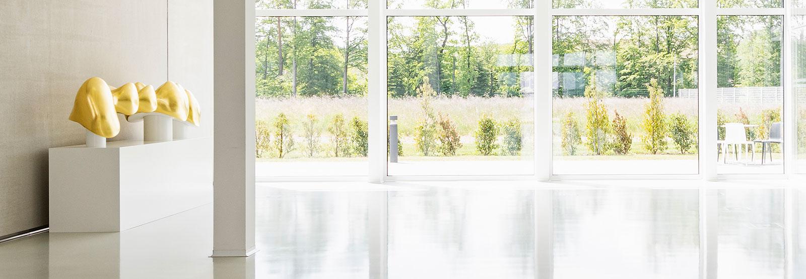 Ansicht des Foyers von C.HAFNER