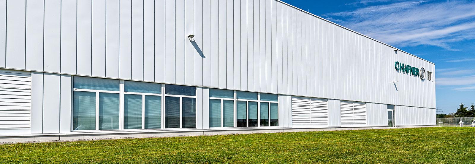 Außenansicht Werkhalle C.HAFNER