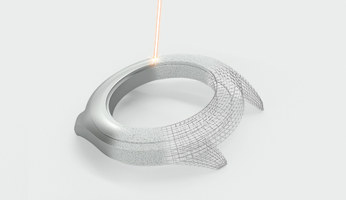 Additive Fertigung mit Edelmetallpulver