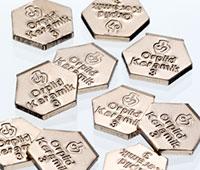 Legierungsblättchen Orplit Keramik 3