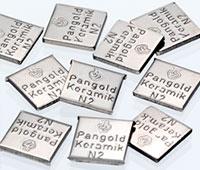 Legierungsblättchen Pangold Keramik N2